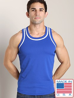 LASC Dry Fit Muscle Tank Royal