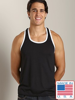 LASC Gymnast Tank Black/White