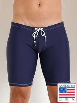 LASC Tricolor Saddle Tight Navy