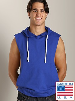 LASC French Terry Sleeveless Hoody Royal
