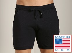 LASC Cotton/Poly Rower Short Black