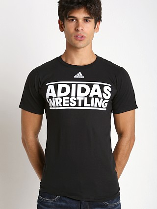 Complete the look: Adidas Wrestling Team T-Shirt Black/White