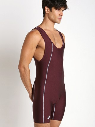 Adidas Side Panel Singlet Maroon