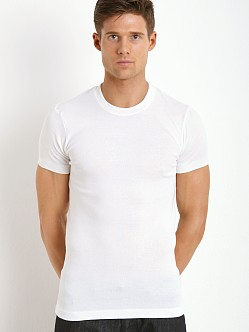 2xist Pima Crew Neck T-Shirt White