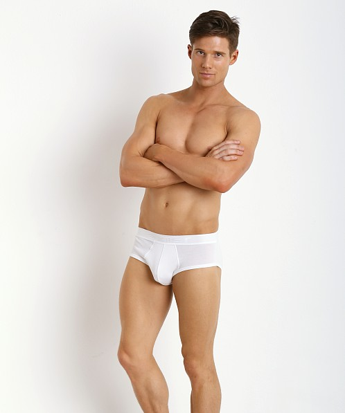 2xist Pima Contour Pouch Brief White