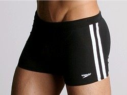Speedo Shoreline Square Leg Black