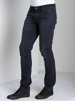 Nudie Jeans Thin Finn Org Black And Grey
