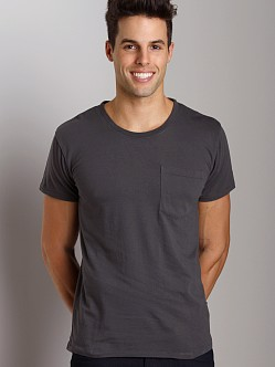 Nudie Jeans Roundneck Pocket Tee Dark Olive