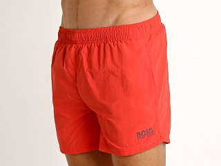Hugo Boss Perch Swim Shorts Coral