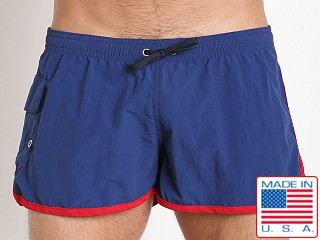 Go Softwear Surf Rider Swim Short Navy/Red