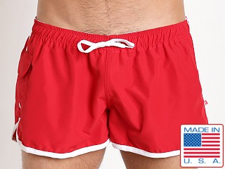 Go Softwear Surf Rider Swim Short Red/White