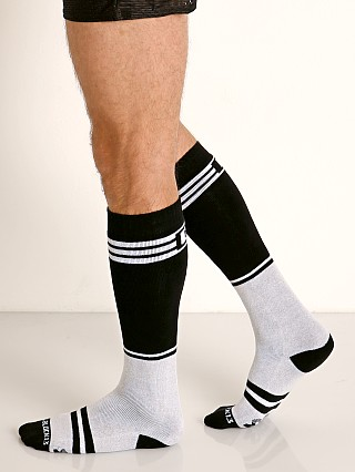 Cell Block 13 Torque 2.0 Knee Socks White
