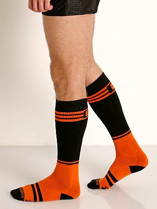 Cell Block 13 Torque 2.0 Knee Socks Orange
