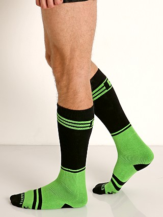Cell Block 13 Torque 2.0 Knee Socks Green