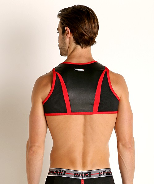 Cell Block 13 Moto X Harness Red