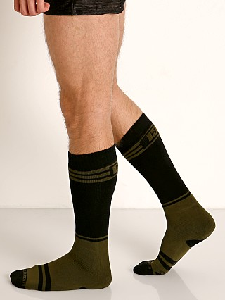 Cell Block 13 Torque 2.0 Knee Socks Army Green