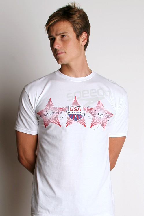Speedo Team USA Three Stars T-Shirt