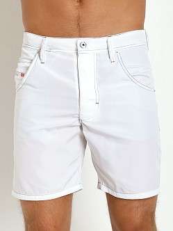 Diesel Kroobeach Board Shorts White