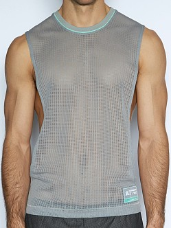 C-IN2 Scrimmage Lift Tank Top Chain Grey