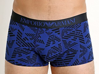 Emporio Armani All Over Eagle Trunk Electric Blue