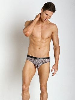 Gregg Homme Frisky Sheer Brief Tiger Print