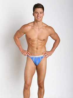 Gregg Homme Hip-Notic Micromodal Thong Blue