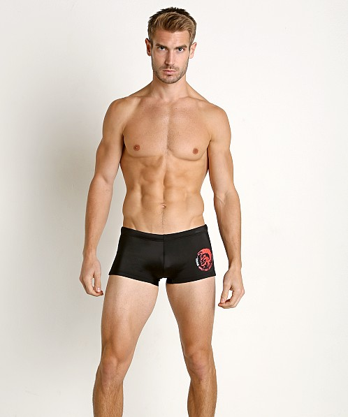 Diesel Mohawk Hero Lycra Swim Trunk Black
