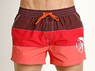 Diesel Caybay Swim Shorts Red