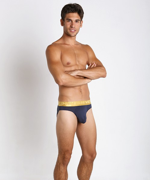 John Sievers California Gold Natural Pouch Brief Navy