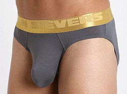 John Sievers California Gold Natural Pouch Brief Steel Grey