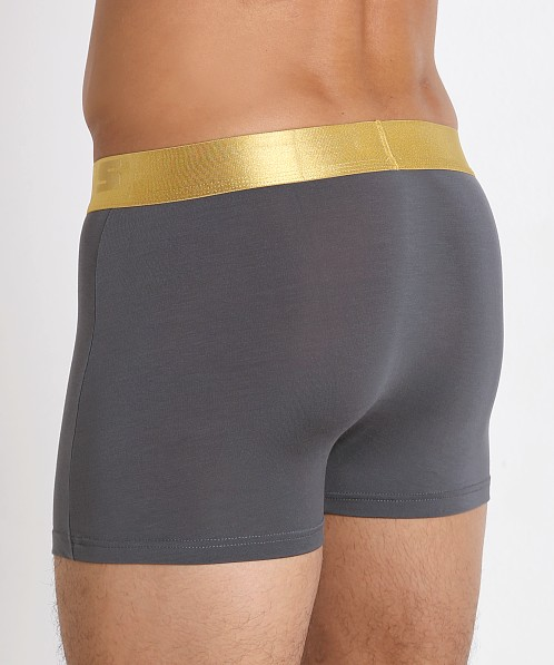 John Sievers California Gold Natural Pouch Boxer Briefs Steel