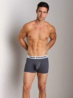 John Sievers SLEEK Natural Pouch Boxer Briefs Steel Grey