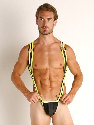 Cell Block 13 Prowler 2.0 C-Ring Thong Harness Yellow