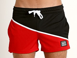 Jack Adams Side Line Short Black/Red