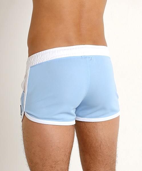 Jack Adams Ultralite Running Short Sky/White
