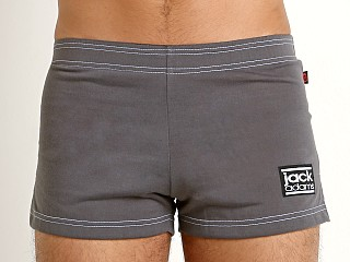 Jack Adams Retro HS Volley Short Charcoal