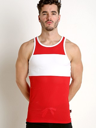 Jack Adams Scrimmage Tank Top Red