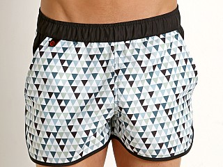 Jack Adams Triangle Swim Short Green Print