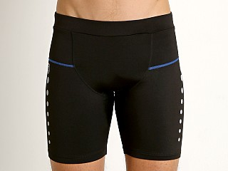 Timoteo Power Stretch Compression Short Black/Blue