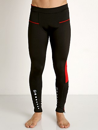 Timoteo Power Stretch Tights Black/Red