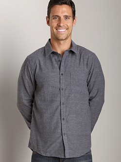 Joe's Jeans Relax Round Pocket Shirt Charcoal