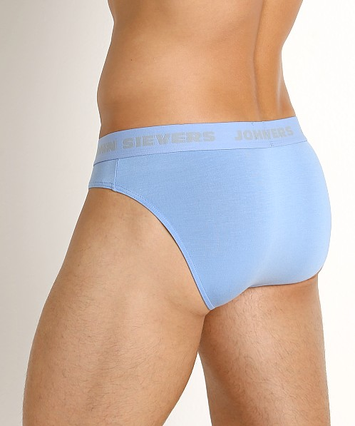 John Sievers SOLID Natural Pouch Brief Sky Blue