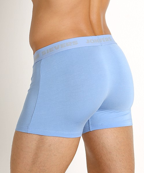 John Sievers SOLID Natural Pouch Boxer Briefs Sky Blue