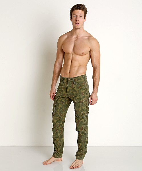 G-Star Rovic 3D Straight Tapered Pants Camo