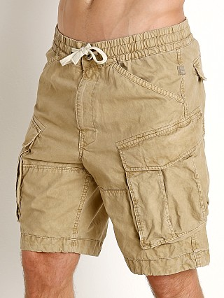 Complete the look: G-Star Rovic Relaxed Bitt Canvas Shorts Sahara