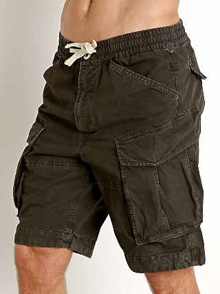 Complete the look: G-Star Rovic Relaxed Bitt Canvas Shorts Raven