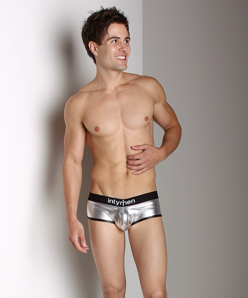 Intymen Chrome Brief Silver