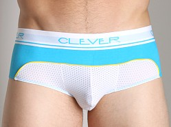 Clever Trilogy Mesh Brief Blue