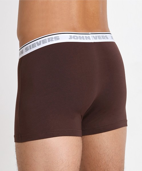 John Sievers Natural Pouch Boxer Briefs Espresso