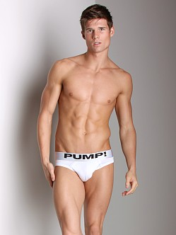Pump! Classic Brief White